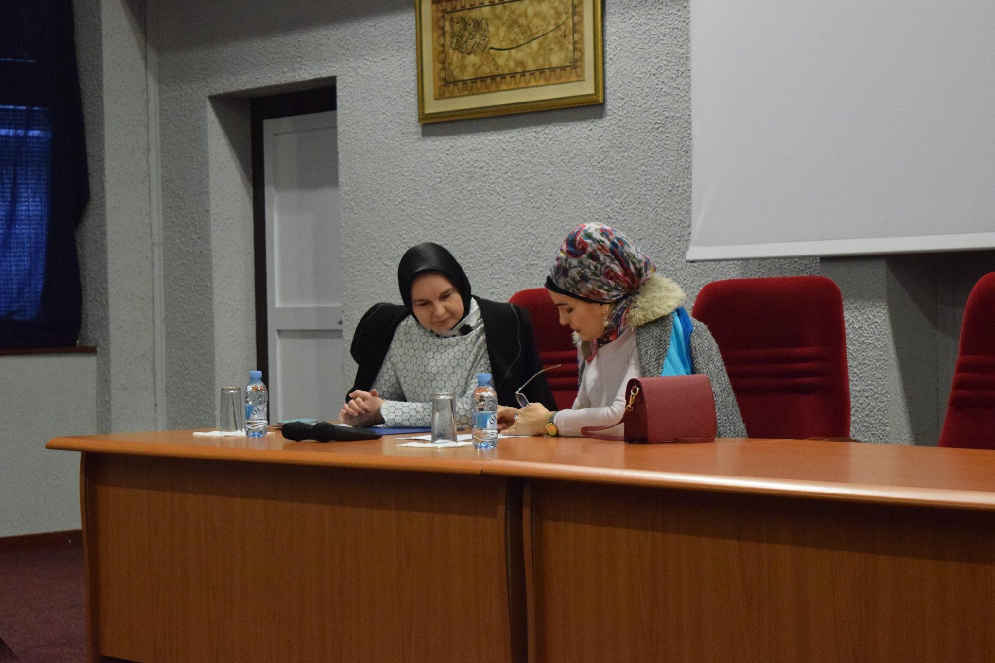 Predavanje Prof. Dr. Fahire Fejzić Povodom Dana Hidžaba