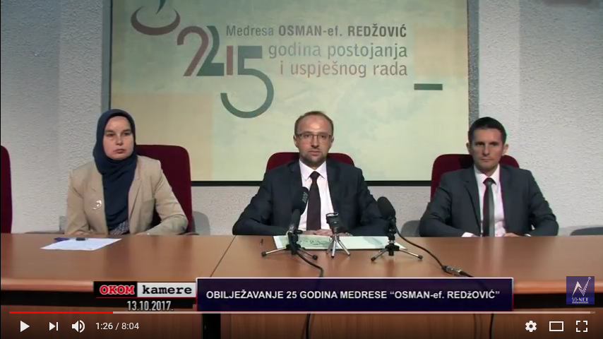 "VIDEO: Press Konferencija Povodom ""Dana Medrese"""