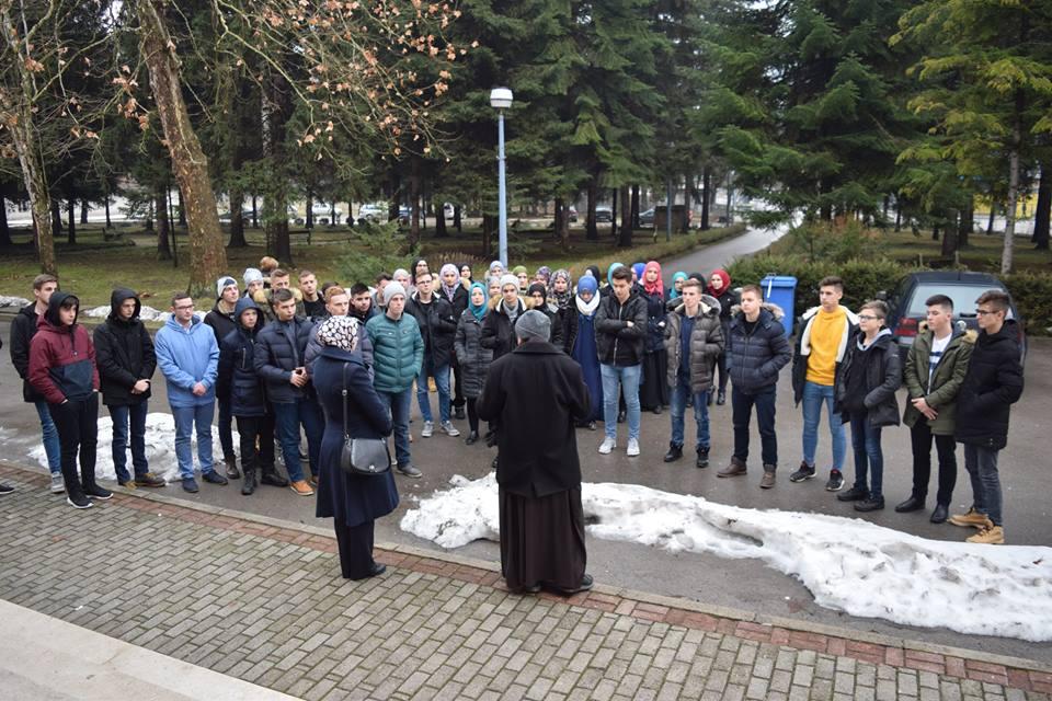 Učenici Medrese U Posjeti Franjevačkoj Klasičnoj Gimnaziji