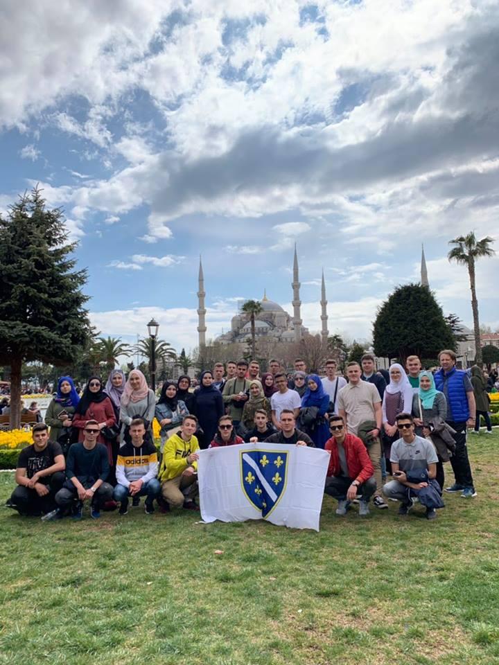 Prvi Dan Naših Maturanata U Istambulu